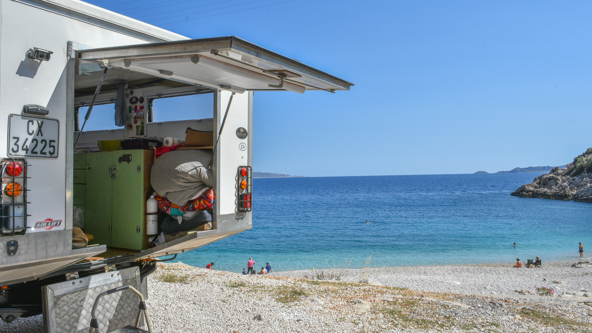 Beach camping, Kas, Turkey.jpg