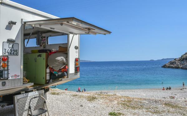 Beach camping, Kas, Turkey.jpg