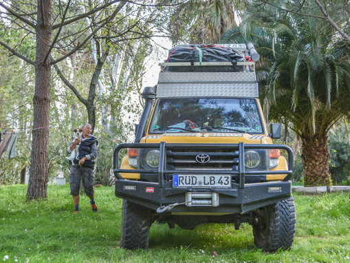 Off-roader vs Overlander