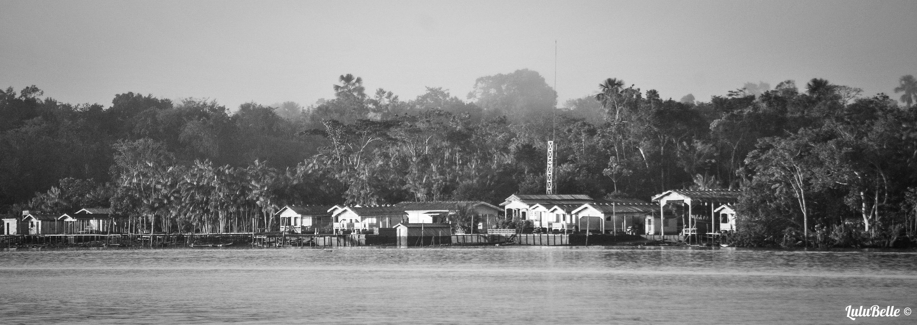 Amazon river town, A2A Expedition