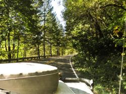 Route to the coast, Oregon. A2A