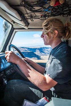 Keelan behind the wheel, A2A