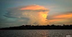 Cumulonimbus, Amazon River. A2A