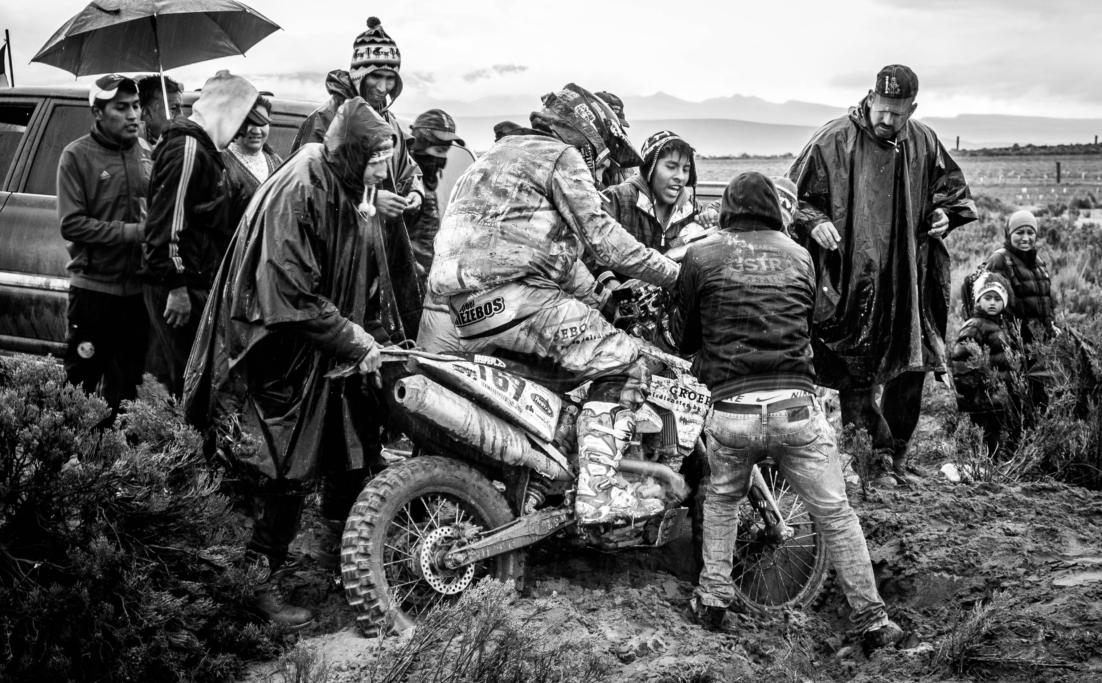 The Dakar Rally, Uyuni 2015. A2A