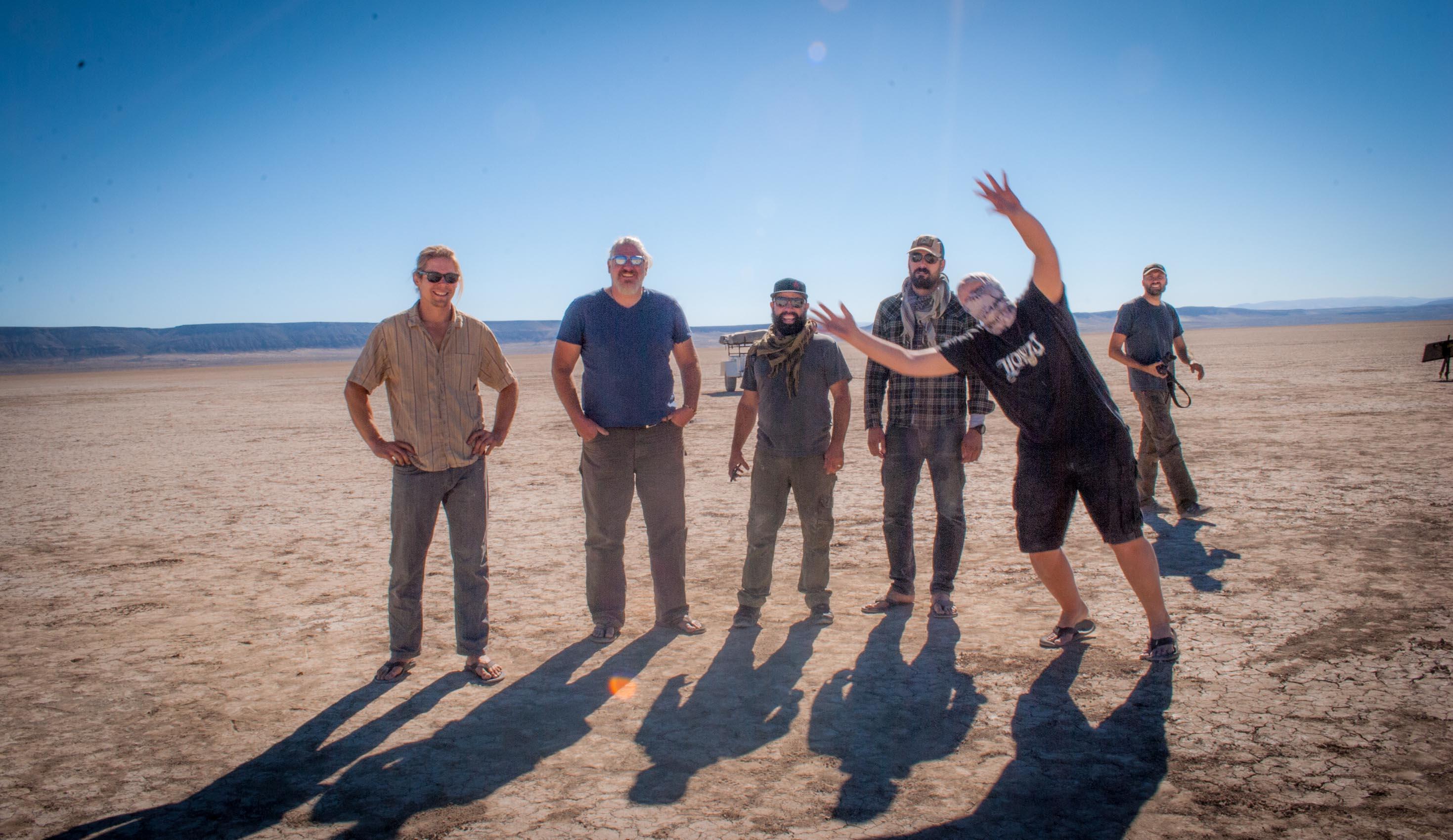 The boyz, Alvord Desert, A2A