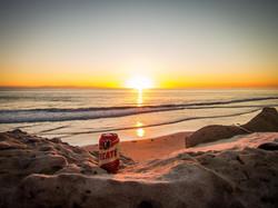 Malibu sunset, A2A Expedition
