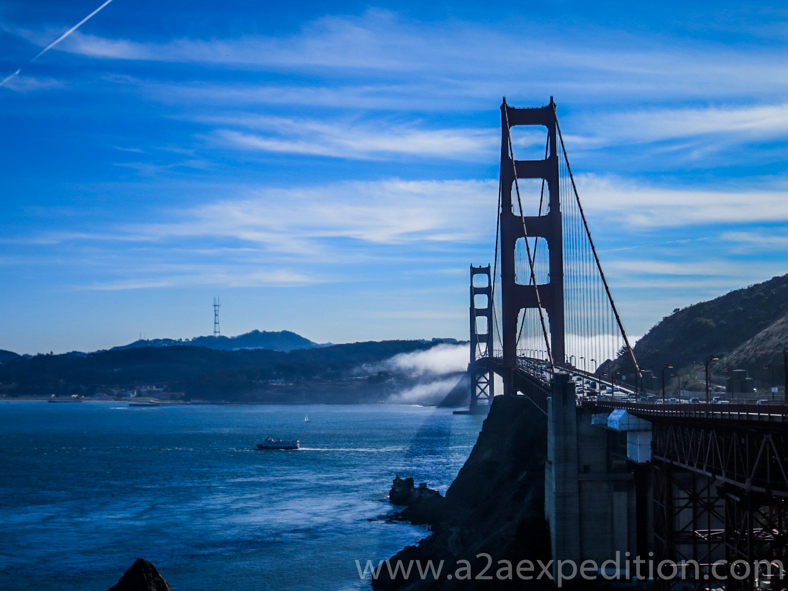 Golden Gate Bridge, A2A Expedition