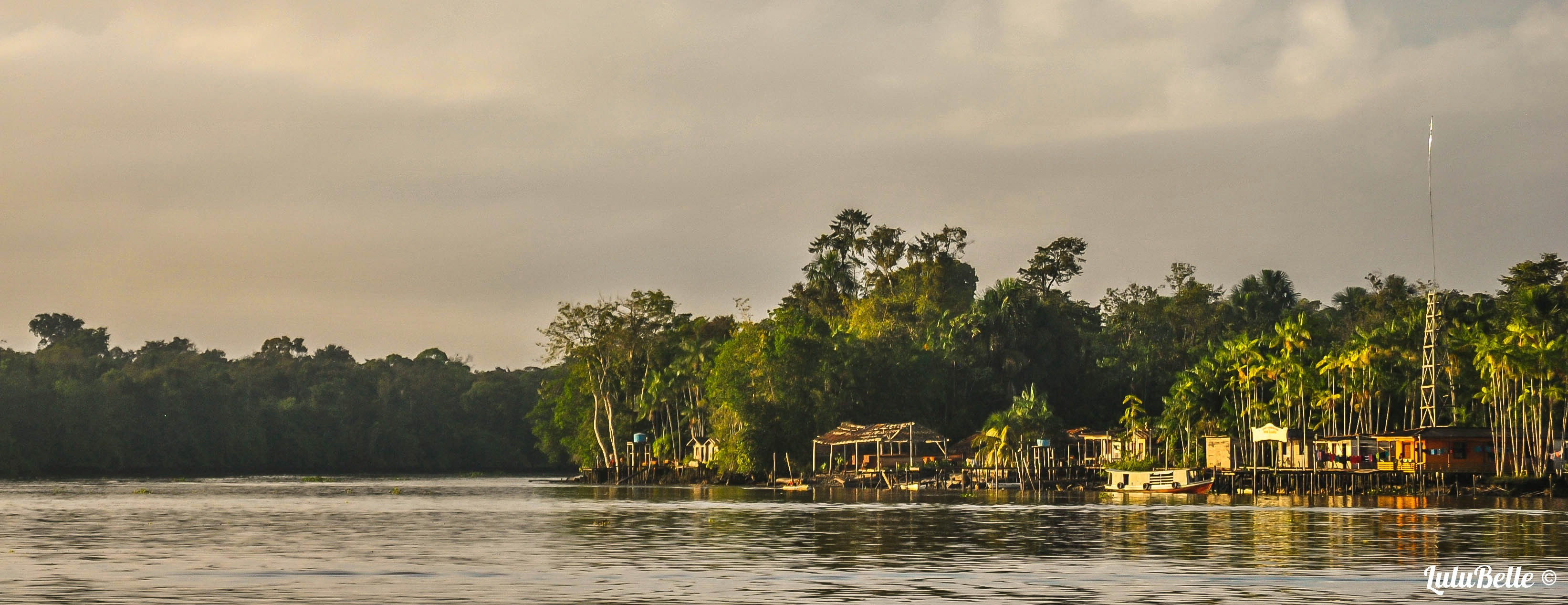 Amazon ferry view, A2A Expedition