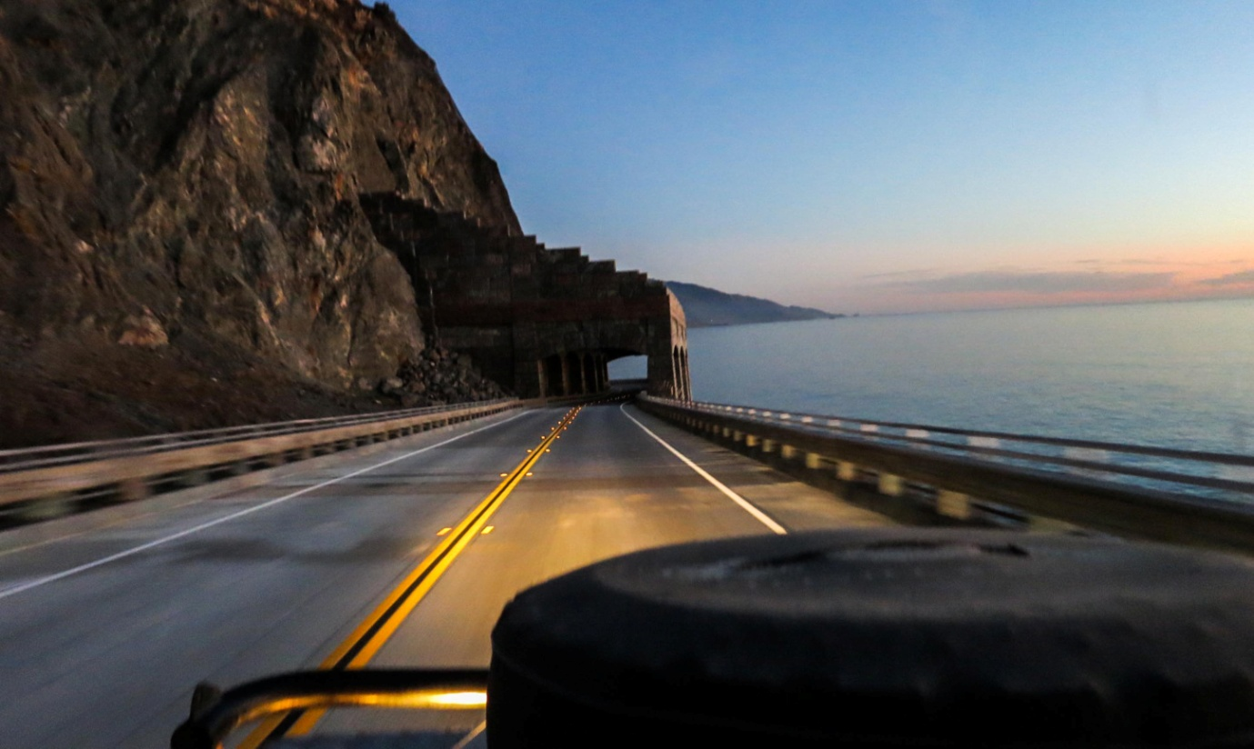 Californian Coastal Road, A2A