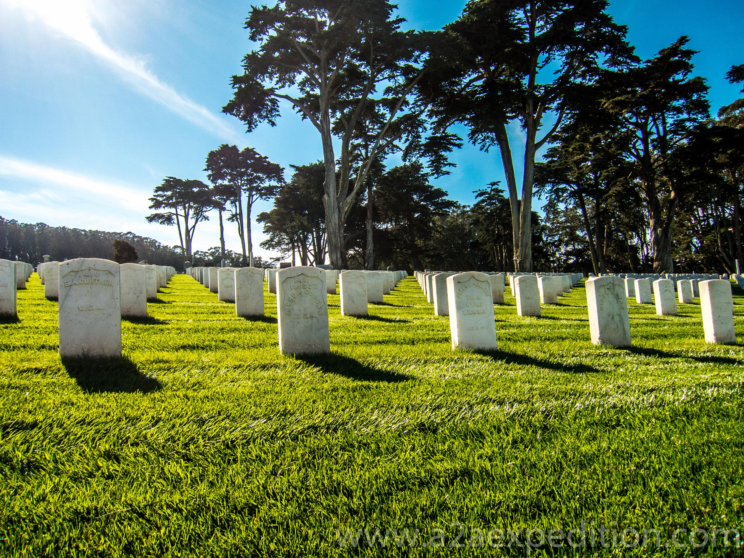 SF national cemetry, A2A Expedition