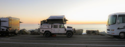 Roadside camping, A2A Expedition