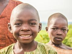 Nigerian villiage kids