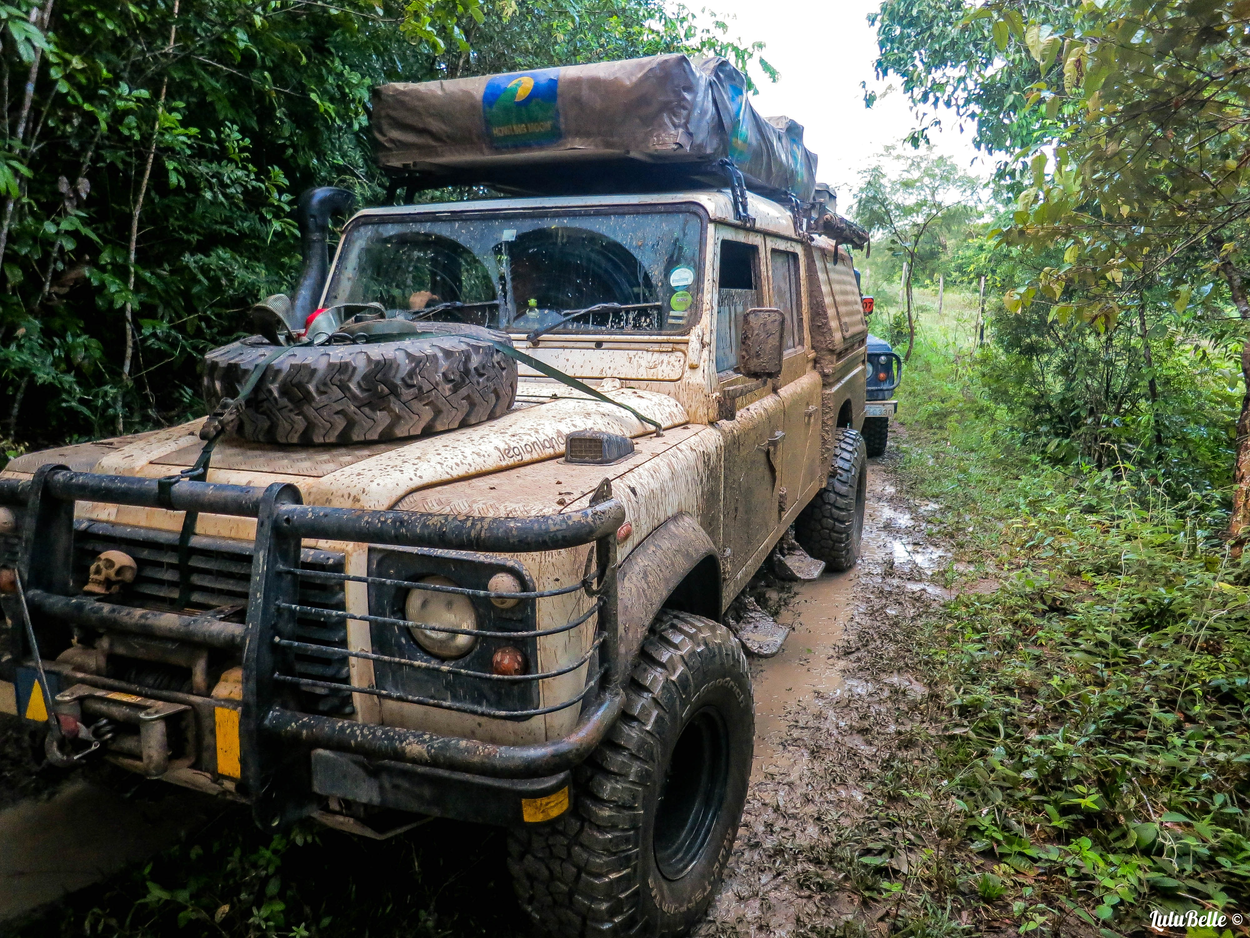 Off roading in the jungle, A2A