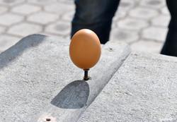 Balancing the Equatoer egg, A2A
