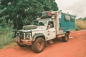 On the road, Congo.jpg