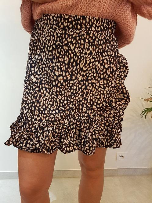 Rokje Leopard donkerblauw