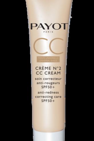 Payot CC nr2 crèmen anti-roodheid