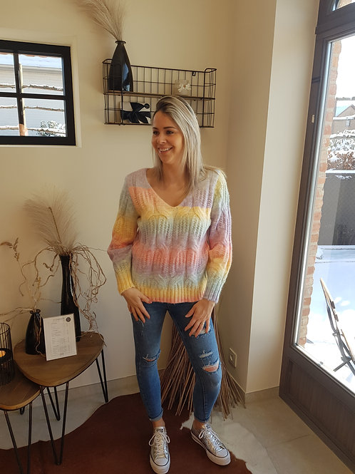 Sweater Rainbow
