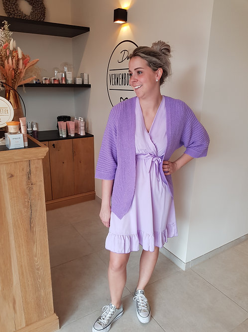Gilet Purple Lila