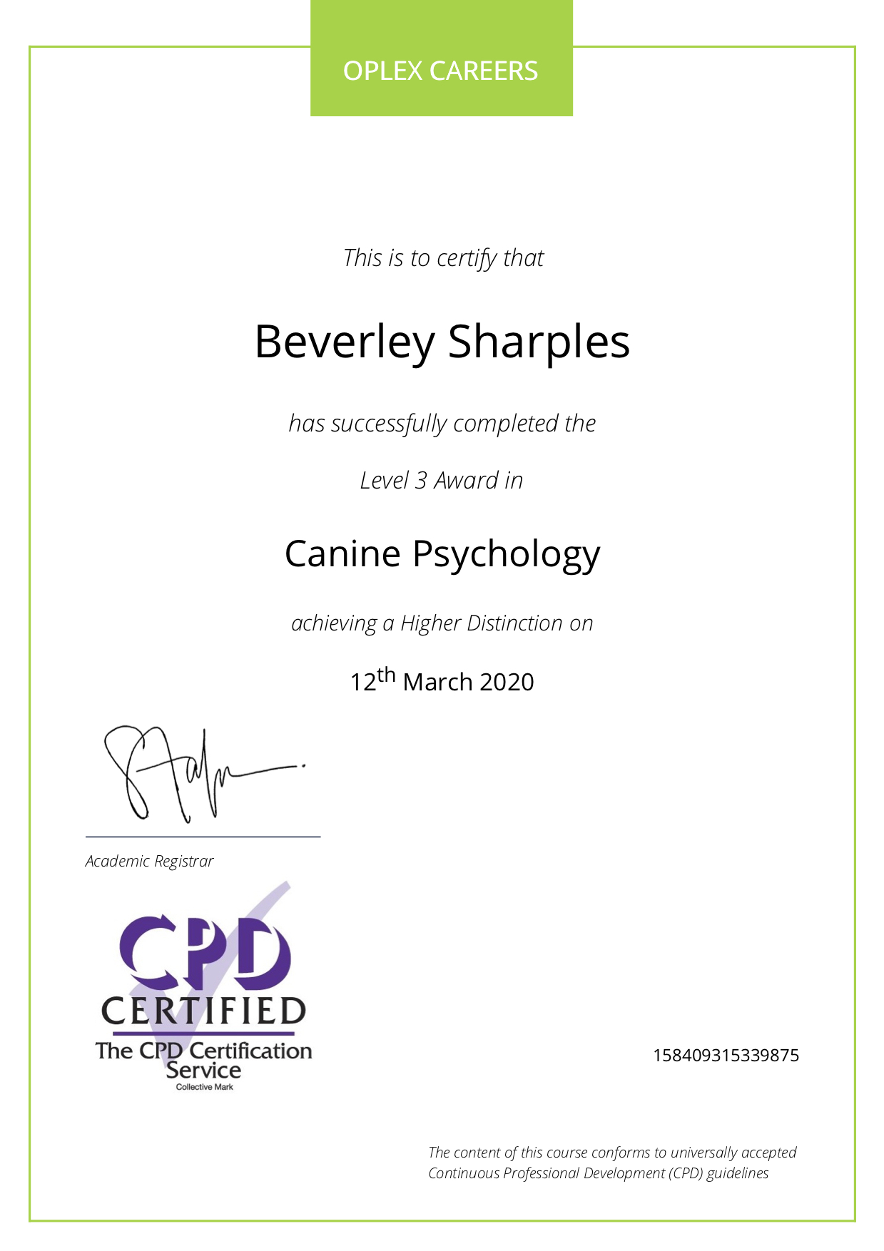 Canine psychology