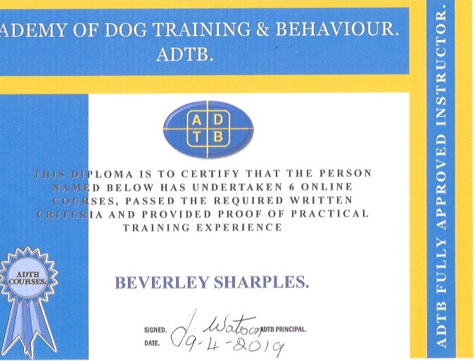 ADTB Accredited trainer