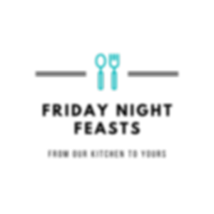 Black with Utensils Icon Restaurant Logo