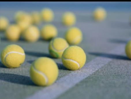 ぎっくり腰とテニスボール