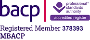 BACP Logo - 378393  registered membershi
