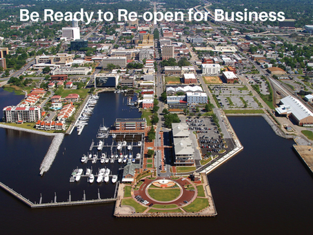 Be Ready to Re-open for Business. What to think about first.