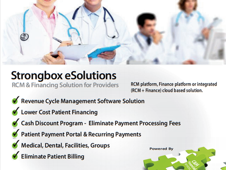 Dental Practice's Solution for High Patient Financing Fees