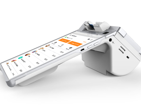 The Smart Flex hybrid terminal and point of sale.