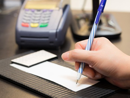Should Businesses Still Require Credit Card Receipt Signatures?