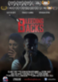 Bleeding Backs film, short film, action, poster, imdb