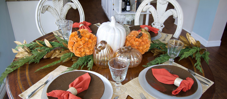 Thanksgiving Tablescape + Recipe