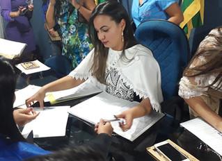 Colação de grau em  Rubiataba. Pedagogia /17 IPF Educacional Goiás.