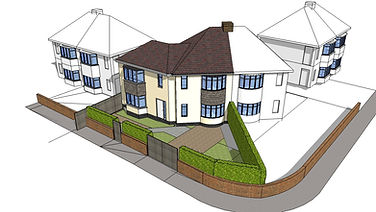 Proposed house extension Sheffield