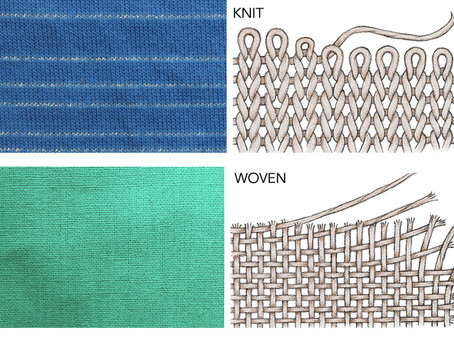 Is your fabric knit or woven?