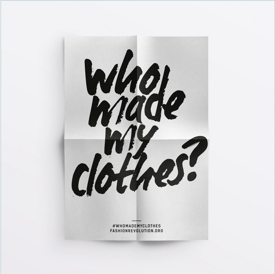 Know who made your clothes