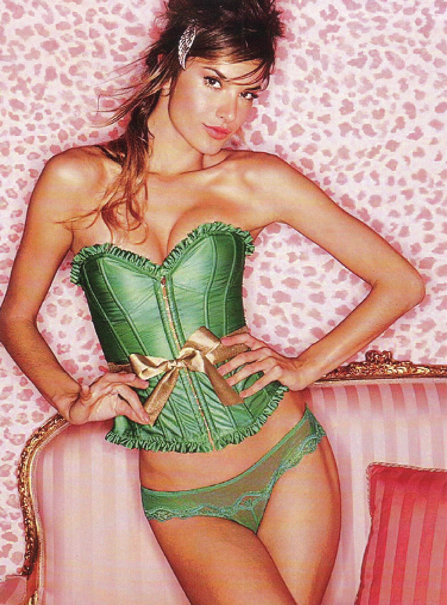 Holiday corset