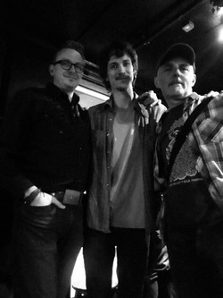 With Ian Felice and Al Rate, 2018