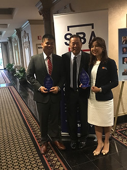 Zhensen Huang, Terry Lin and Sophia (T&T Consulting)