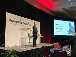 Xin Liu at Google Federal Healthcare Day