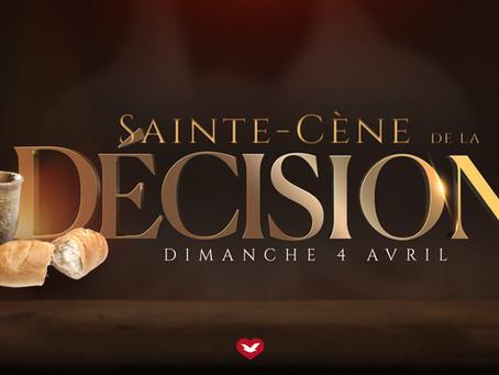 La Sainte Cène de la Décision