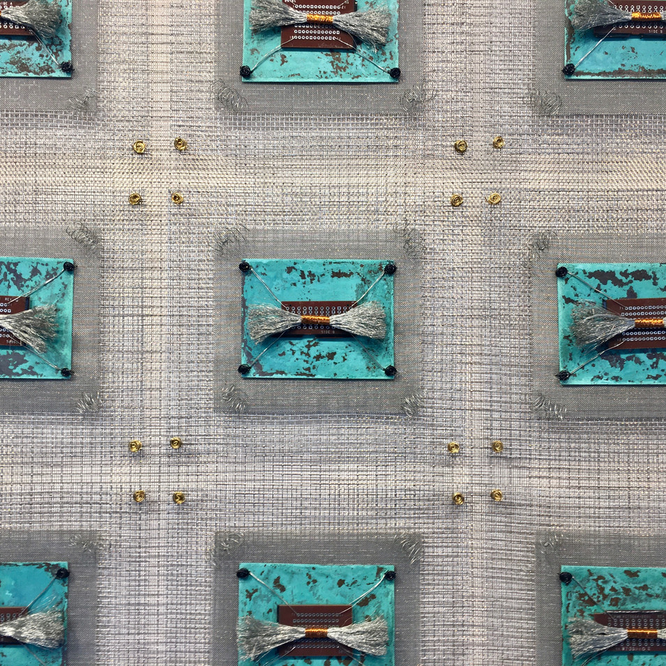 Detail photo Ocean Circuits Industrial Quilt