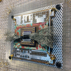 Detail photo Integrated Circuits Chip I-VI Industrial Quilt installation