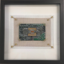 Integrated Circuits Microchip Industrial Square framed