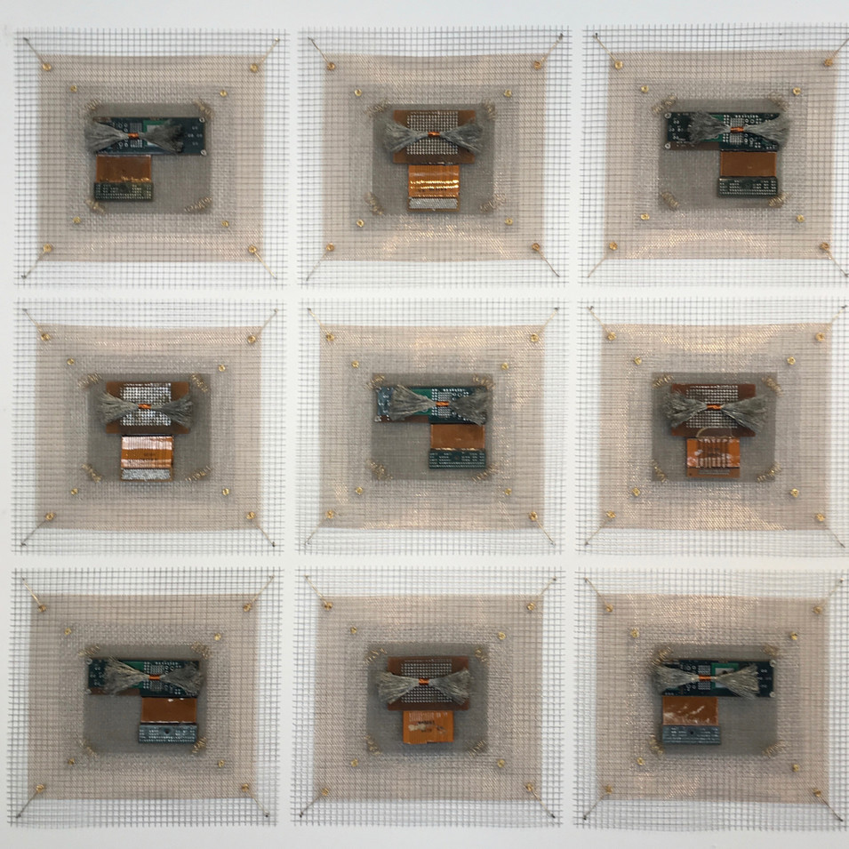 Integrated Circuits Remnant Industrial Quilt