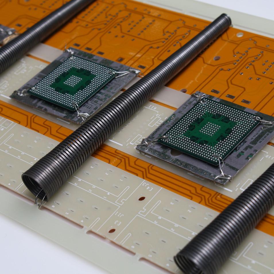 Detail photo Spiral Chip Industrial Strip