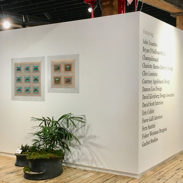 Industrial Quilts at 1st Dibs Gallery NYC Chelsea