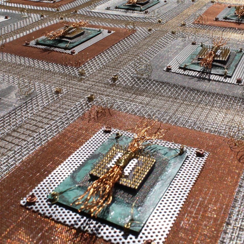 Detail photo Microchip II Industrial Quilt